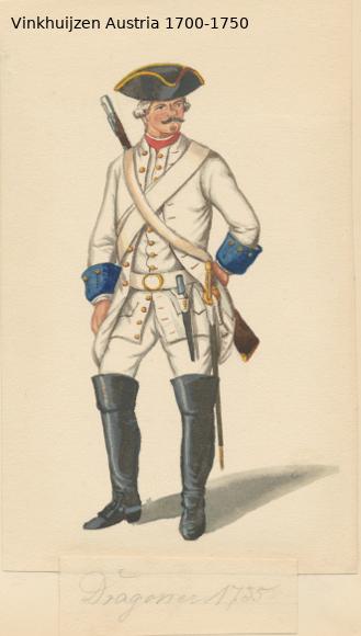 Austrian Uniforms Vinkhuijzen collection NYPL Austri57
