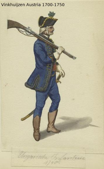 Austrian Uniforms Vinkhuijzen collection NYPL Austri60