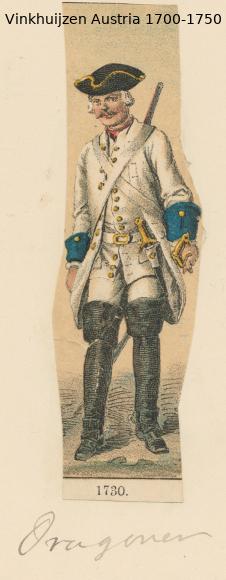 Austrian Uniforms Vinkhuijzen collection NYPL Austri62