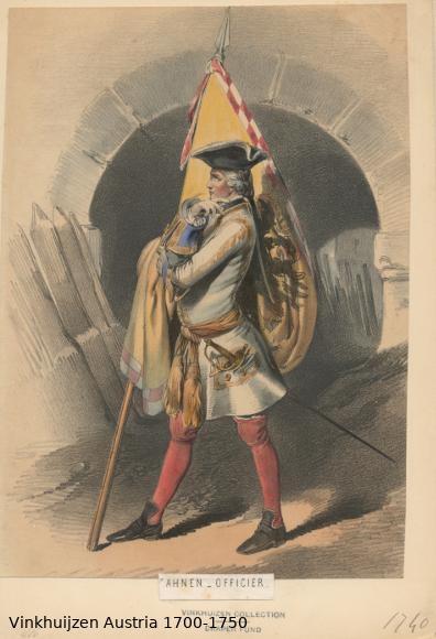Austrian Uniforms Vinkhuijzen collection NYPL Austri64