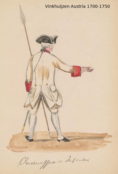 Austrian Uniforms Vinkhuijzen collection NYPL Austri66