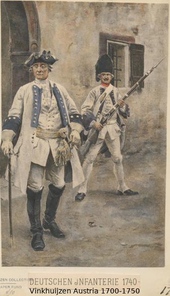 Austrian Uniforms Vinkhuijzen collection NYPL Austri68