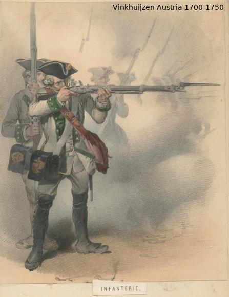 Austrian Uniforms Vinkhuijzen collection NYPL Austri69