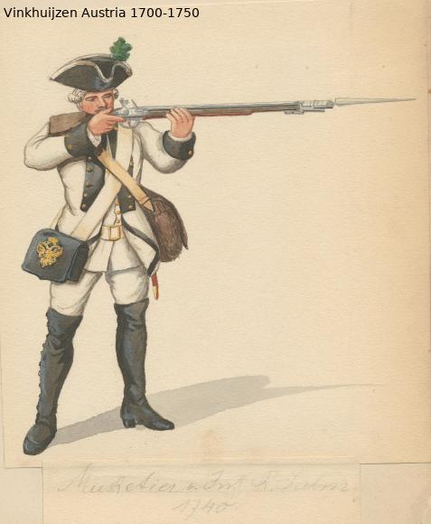 Austrian Uniforms Vinkhuijzen collection NYPL Austri70