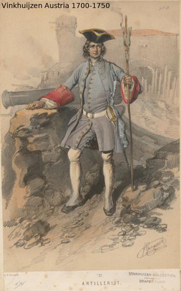 Austrian Uniforms Vinkhuijzen collection NYPL Austri72