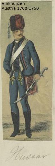 Austrian Uniforms Vinkhuijzen collection NYPL Austri77