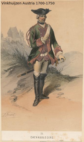 Austrian Uniforms Vinkhuijzen collection NYPL Austri80