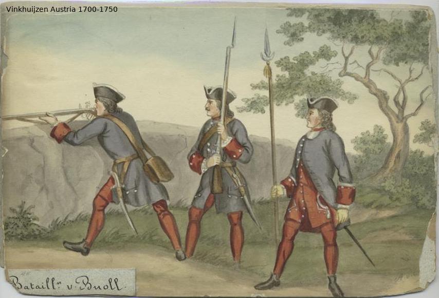 Austrian Uniforms Vinkhuijzen collection NYPL Austri89