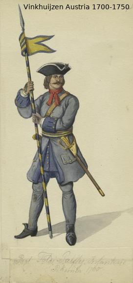 Austrian Uniforms Vinkhuijzen collection NYPL Austri92