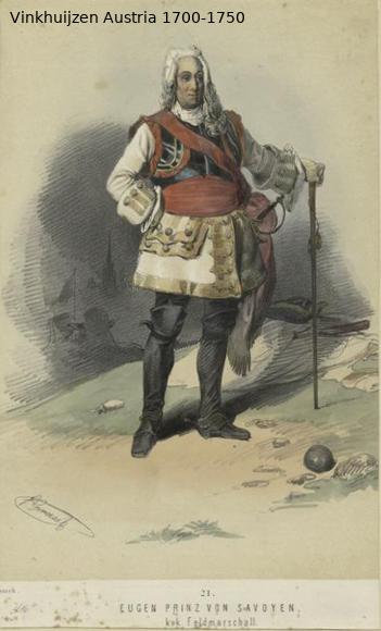 Austrian Uniforms Vinkhuijzen collection NYPL Austri94