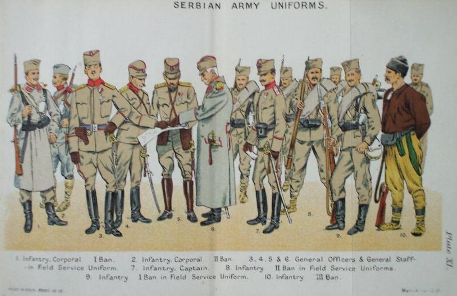 Serbian infantry from 1914 Balkin10