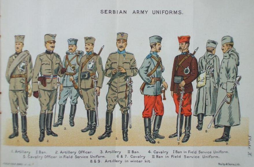 Serbian infantry from 1914 Balkin11