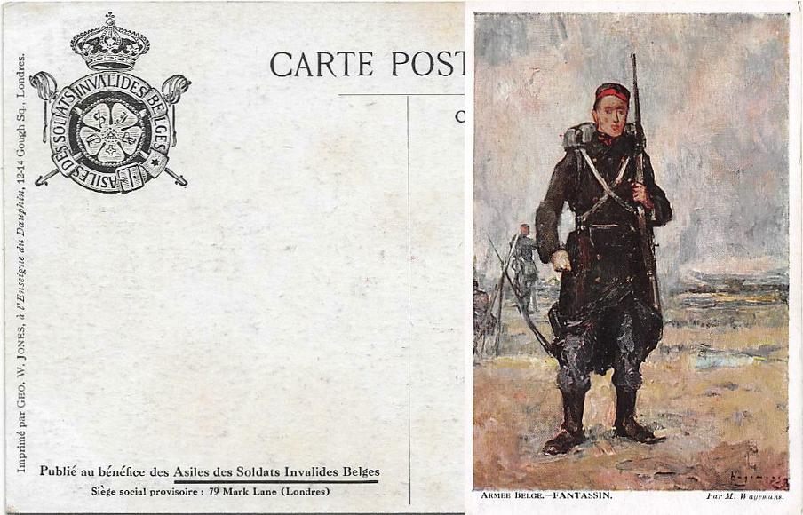 WWI uniforms Belges11