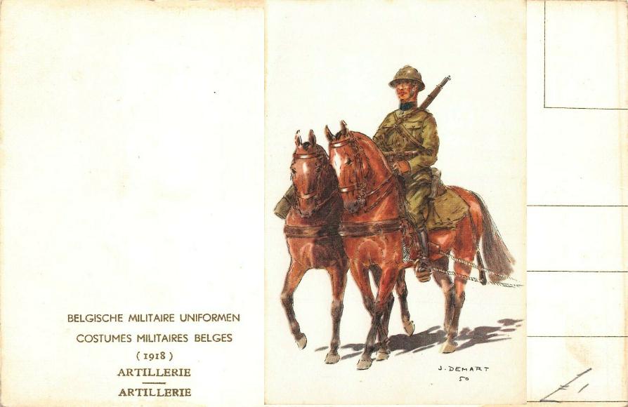 WWI uniforms Belges16