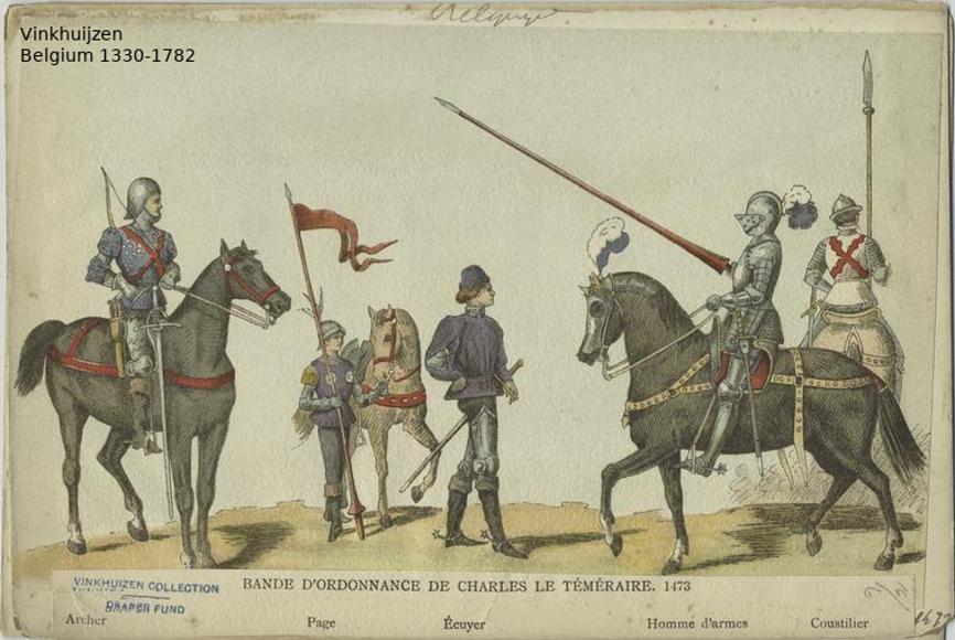 Belgium from 1330 - Vinkhuijzen collection Belgiu12
