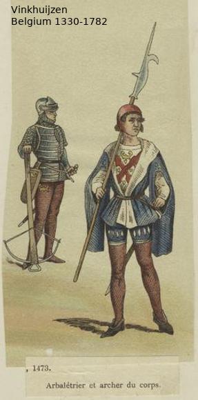 Belgium from 1330 - Vinkhuijzen collection Belgiu16