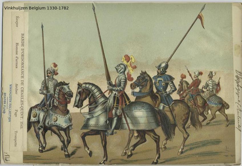 Belgium from 1330 - Vinkhuijzen collection Belgiu21