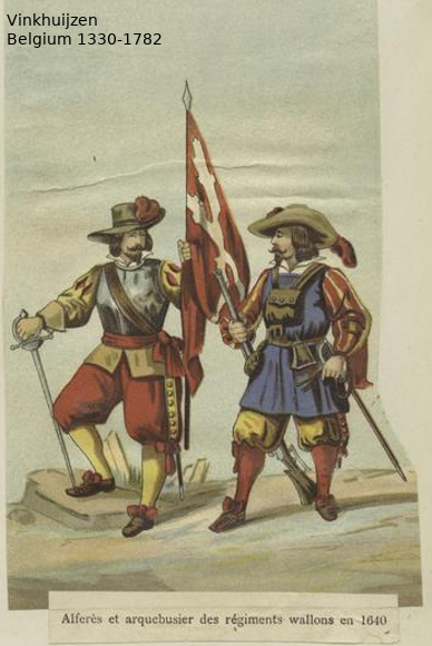 Belgium from 1330 - Vinkhuijzen collection Belgiu23