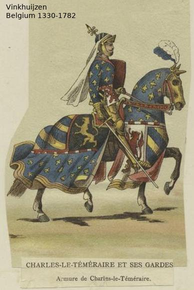 Belgium from 1330 - Vinkhuijzen collection Belgiu25
