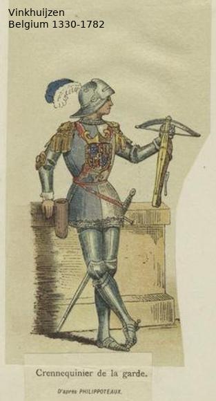 Belgium from 1330 - Vinkhuijzen collection Belgiu27