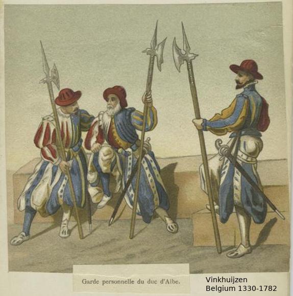 Belgium from 1330 - Vinkhuijzen collection Belgiu31