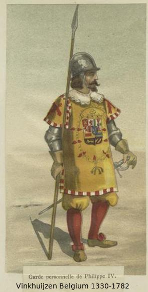 Belgium from 1330 - Vinkhuijzen collection Belgiu34