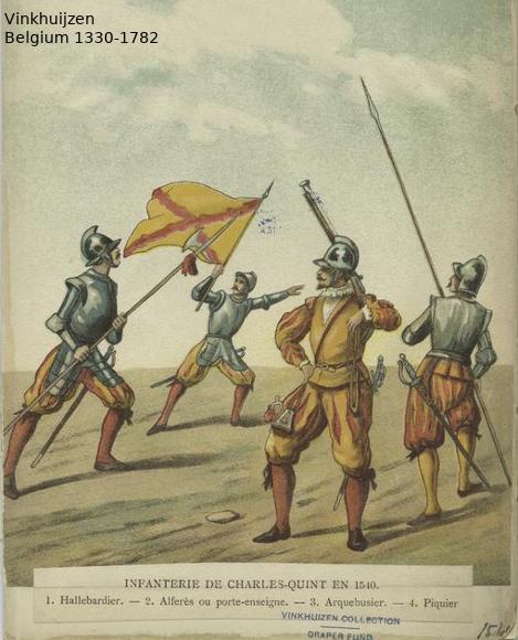 Belgium from 1330 - Vinkhuijzen collection Belgiu39