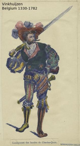 Belgium from 1330 - Vinkhuijzen collection Belgiu44
