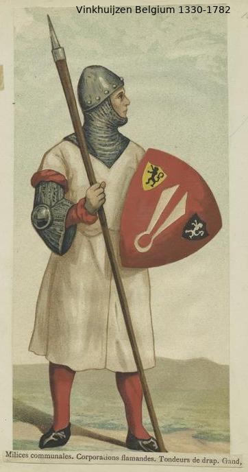 Belgium from 1330 - Vinkhuijzen collection Belgiu46