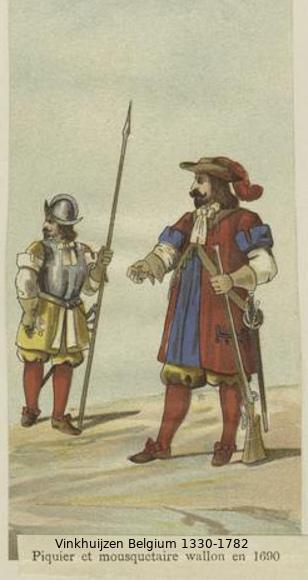 Belgium from 1330 - Vinkhuijzen collection Belgiu53