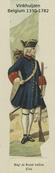 Belgium from 1330 - Vinkhuijzen collection Belgiu54