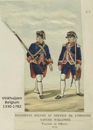 Belgium from 1330 - Vinkhuijzen collection Belgiu55