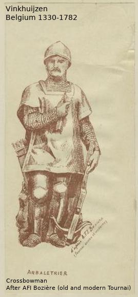 Belgium from 1330 - Vinkhuijzen collection Belgiu70