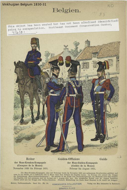 Belgium from 1330 - Vinkhuijzen collection Belgiu81