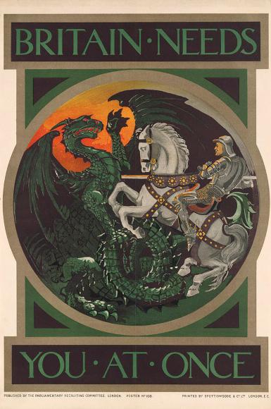 WW1 posters Britai10