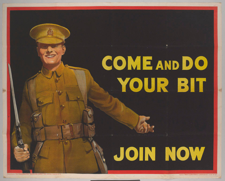 WW1 posters Come_a10