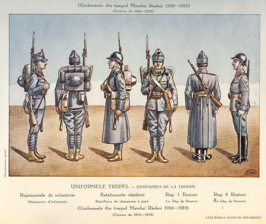 Rumanian Army Ranks from 1895 Rumain13