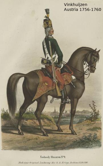 Austrian Uniforms Vinkhuijzen collection NYPL Vinkh140