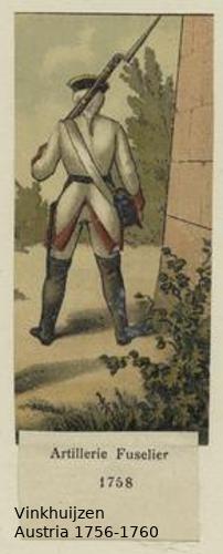 Austrian Uniforms Vinkhuijzen collection NYPL Vinkh141