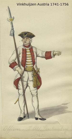 Austrian Uniforms Vinkhuijzen collection NYPL Vinkhu30