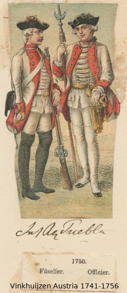 Austrian Uniforms Vinkhuijzen collection NYPL Vinkhu42