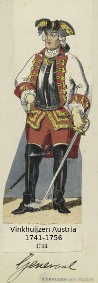 Austrian Uniforms Vinkhuijzen collection NYPL Vinkhu46
