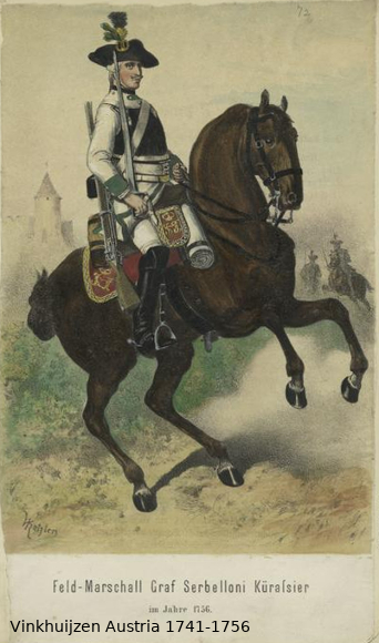 Austrian Uniforms Vinkhuijzen collection NYPL Vinkhu53