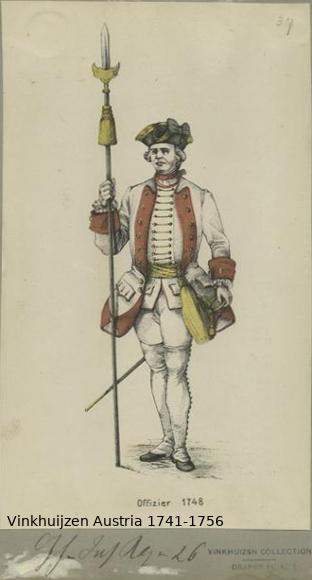 Austrian Uniforms Vinkhuijzen collection NYPL Vinkhu54