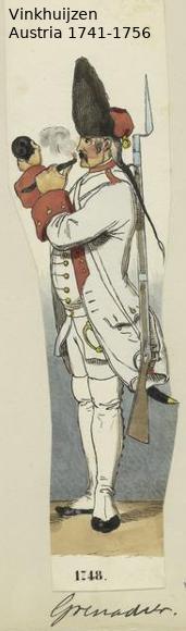 Austrian Uniforms Vinkhuijzen collection NYPL Vinkhu56