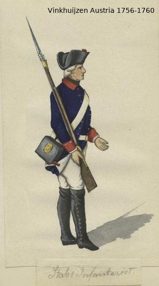 Austrian Uniforms Vinkhuijzen collection NYPL Vinkhu77
