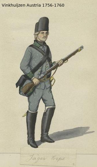 Austrian Uniforms Vinkhuijzen collection NYPL Vinkhu78