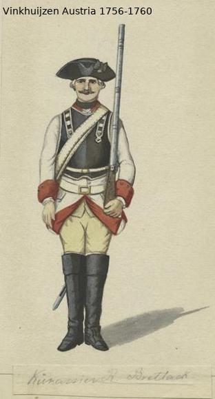 Austrian Uniforms Vinkhuijzen collection NYPL Vinkhu81