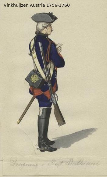 Austrian Uniforms Vinkhuijzen collection NYPL Vinkhu82