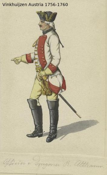 Austrian Uniforms Vinkhuijzen collection NYPL Vinkhu83